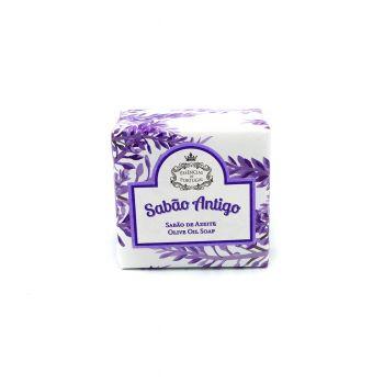 Traditonelle Olivenöl Stückseife Lavendel