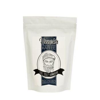 Hinnerk's Kaffee Indonesien ganze Bohne 250g