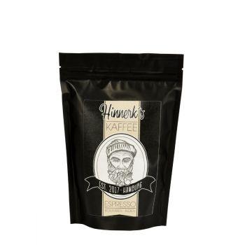 Hinnerk's Kaffee Espresso ganze Bohne