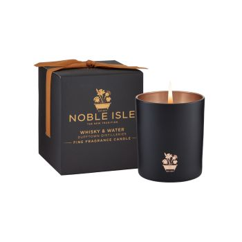 Whisky & Water  Fine Fragrance Candle 200g – Duftkerze